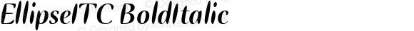 EllipseITC-BoldItalic
