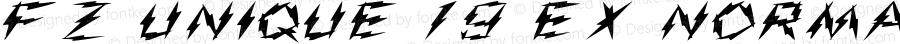 FZ UNIQUE 19 EX Normal 1.0 Fri Apr 22 13:03:21 1994