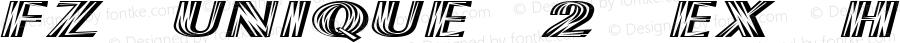 FZ UNIQUE 2 EX Heavy 1.0 Sun Apr 24 13:30:31 1994