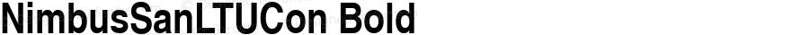 NimbusSanLTUCon Bold Version 001.005