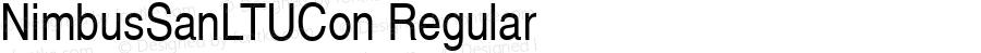 NimbusSanLTUCon Regular Version 001.005