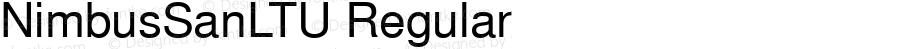 NimbusSanLTU Regular Version 001.005