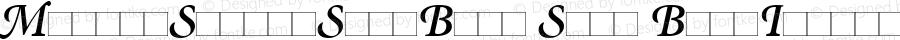 MinionSwash-SemiBold Semi BoldItalic Version 1.00