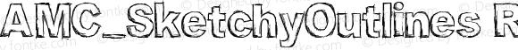 AMC_SketchyOutlines Regular Version 1.00 July 13, 2006, initial release