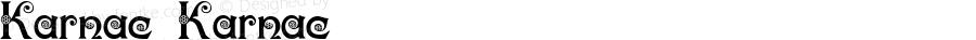 Karnac Karnac 2003; 1.1 (Digitized by Robert Moore