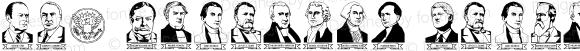 LCR American Presidents Regular Macromedia Fontographer 4.1 9/8/01