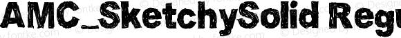 AMC_SketchySolid Regular Version 1.00 July 13, 2006, initial release