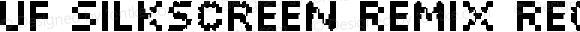 UF Silkscreen Remix Regular Version 1.01