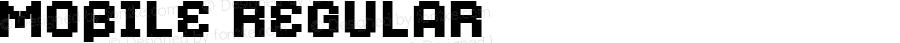 Mobile Regular Macromedia Fontographer 4.1.4 2/26/06