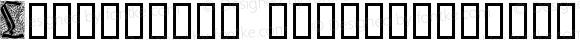 Liturgisch Zierbuchstaben Regular Version 1.0; 2002; initial release
