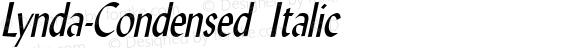 Lynda-Condensed Italic 1.0/1995: 2.0/2001
