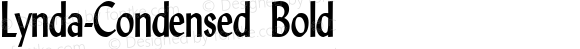Lynda-Condensed Bold 1.0/1995: 2.0/2001