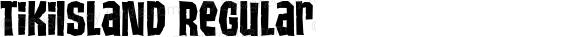 TikiIsland Regular Macromedia Fontographer 4.1.5 10/15/98