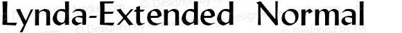Lynda-Extended Normal 1.0/1995: 2.0/2001