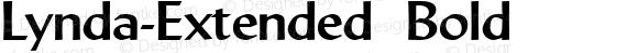 Lynda-Extended Bold 1.0/1995: 2.0/2001