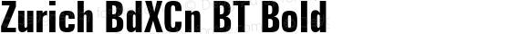 Zurich BdXCn BT Bold mfgpctt-v1.52 Tuesday, January 19, 1993 9:51:43 am (EST)