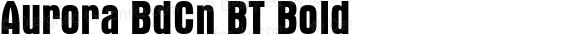 Aurora BdCn BT Bold mfgpctt-v1.52 Thursday, January 28, 1993 1:39:44 pm (EST)