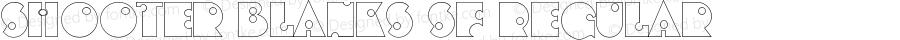 Shooter Blanks SF Regular Altsys Fontographer 3.5  16.05.1994