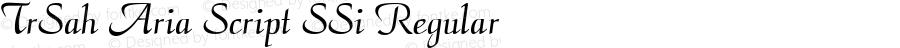 TrSah Aria Script SSi Regular 1¼