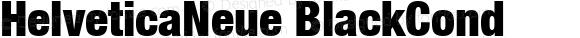 HelveticaNeue BlackCond