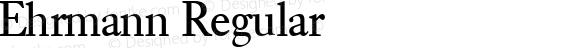 Ehrmann Regular 1.0 Mon Oct 30 15:23:44 1995