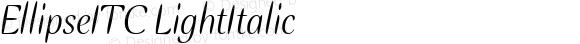 EllipseITC-Italic