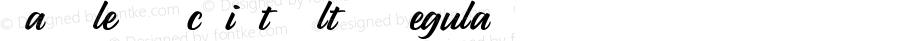 Parsley Script Alts Regular Version 1.000