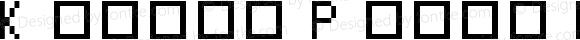 Koecki Pixel Regular Macromedia Fontographer 4.1 30.12.2004