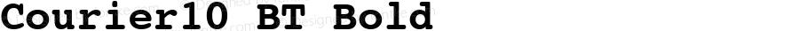 Courier10 BT Bold mfgpctt-v1.53 Wednesday, January 27, 1993 2:47:32 pm (EST)