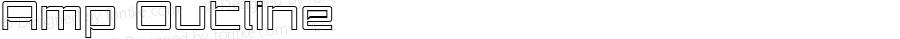 Amp Outline Macromedia Fontographer 4.1.5 1/15/04