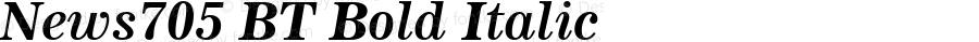 News705 BT Bold Italic mfgpctt-v1.57 Tuesday, February 23, 1993 9:22:21 am (EST)