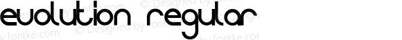 Evolution Regular Version 1.000 2008 initial release