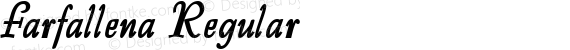 Farfallena Regular preview image