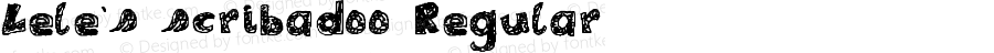 Lele's scribadoo Regular Version 2.9 27/1/10