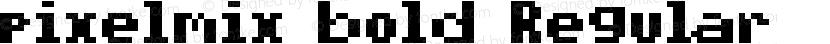 pixelmix bold Regular Preview Image