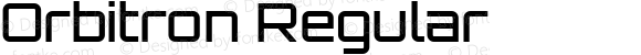 Orbitron Regular 1.000
