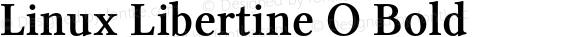 Linux Libertine O Bold preview image