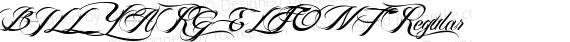 BILLY ARGEL FONT Regular preview image