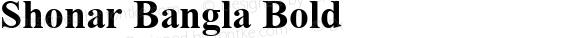 Shonar Bangla Bold Version 5.91