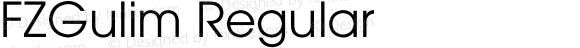 FZGulim Regular