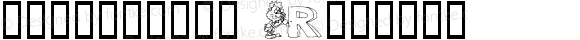 3代呼吸英文-带卡通 Regular Macromedia Fontographer 4.1 2000-08-12