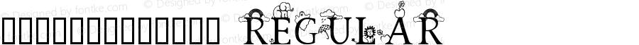3代呼吸英文-各种动物围绕 Regular Macromedia Fontographer 4.1 2001-07-15