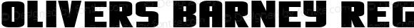 Olivers Barney Regular OTF 3.000;PS 001.001;Core 1.0.29