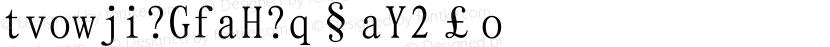 UWPXKJ (GB) Regular Preview Image