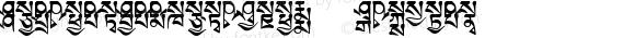 TibetanMachineSkt3 Regular Version 4.100; 1999
