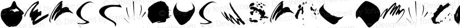 BrushapesRound Italic Macromedia Fontographer 4.1.3 08.02.2002
