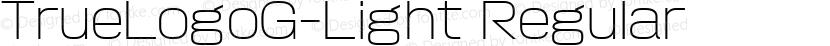 TrueLogoG-Light Regular Preview Image
