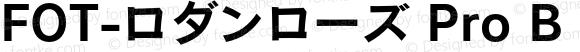 FOT-ロダンローズ Pro B Regular Version 1.000;PS 1;Core 1.0.35;makeotf.lib1.5.4750