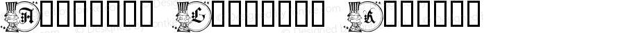 American Gothique Regular Macromedia Fontographer 4.1 3/5/03
