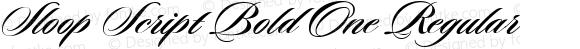 Sloop Script Bold One